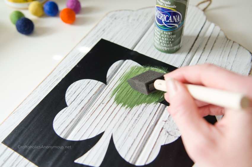 How to make St patricks day sign tutorial