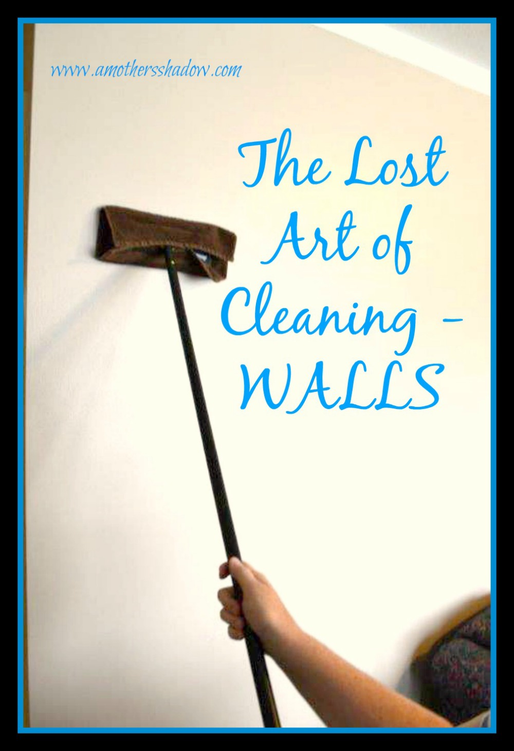 cleaning your walls