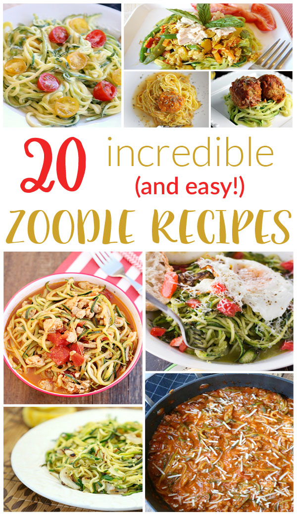 Zoodle Recipes - 1