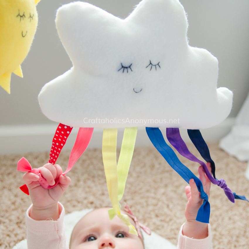 Craftaholics Anonymous: DIY Baby Gym Tutorial With Free