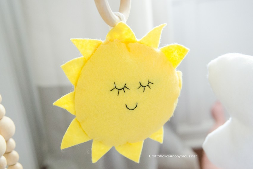 DIY Sunshine toy stuffee stuffed toy