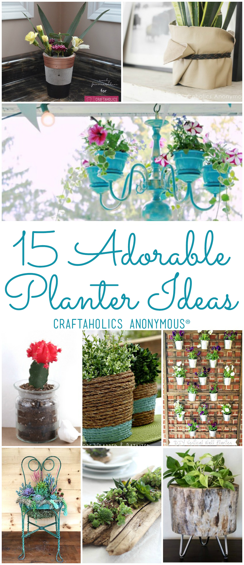15 DIY Planter Ideas