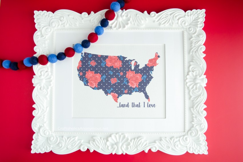 DIY Patriotic decorations and crafts for 4th of July