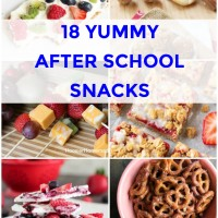 18 After School Snacks