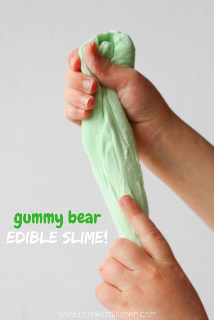 Gummy Bear Edible Slime