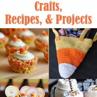 15 Candy Corn Projects, Crafts, and Recipes