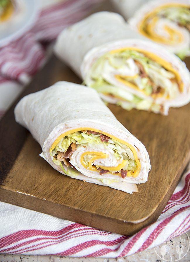 Turkey Bacon Ranch Roll Ups