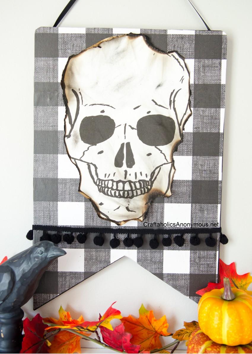 Halloween-Skull-sign-DIY