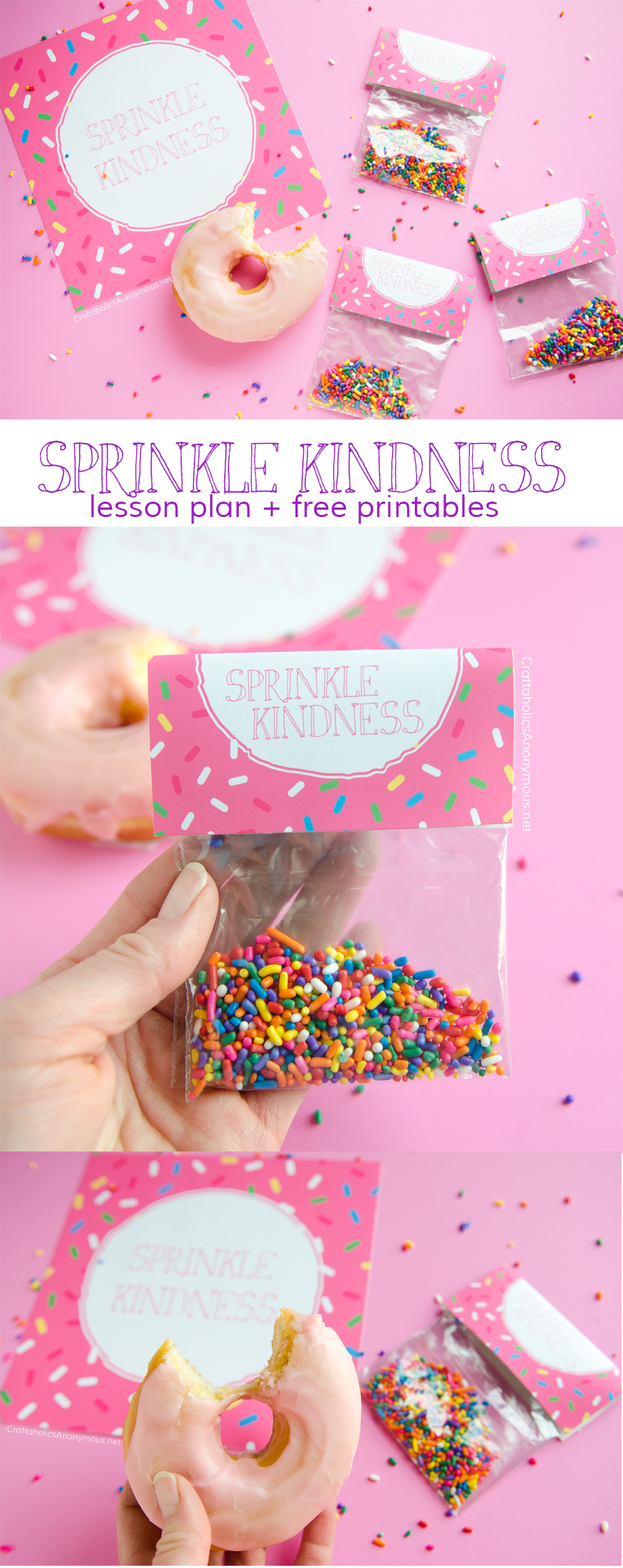 Sprinkle Kindness :: a lesson plan and activity geared towards kids. Great for Family Home Evening, Back to School, Activity Days, or Young Women.