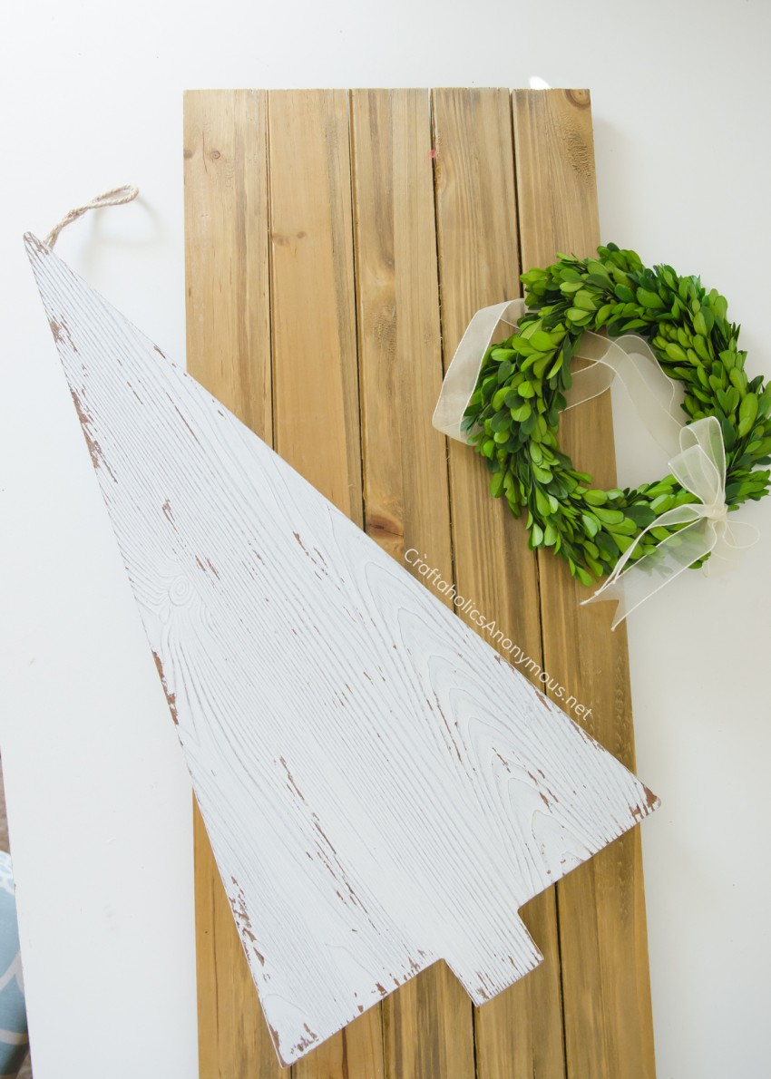 Farmhouse Christmas craft idea