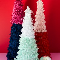 Colorful Mini Christmas Trees