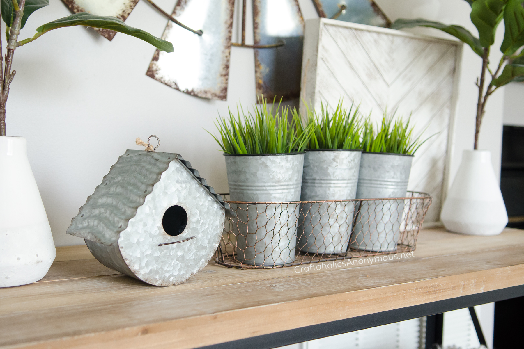 Modern Farmhouse Spring decorating ideas