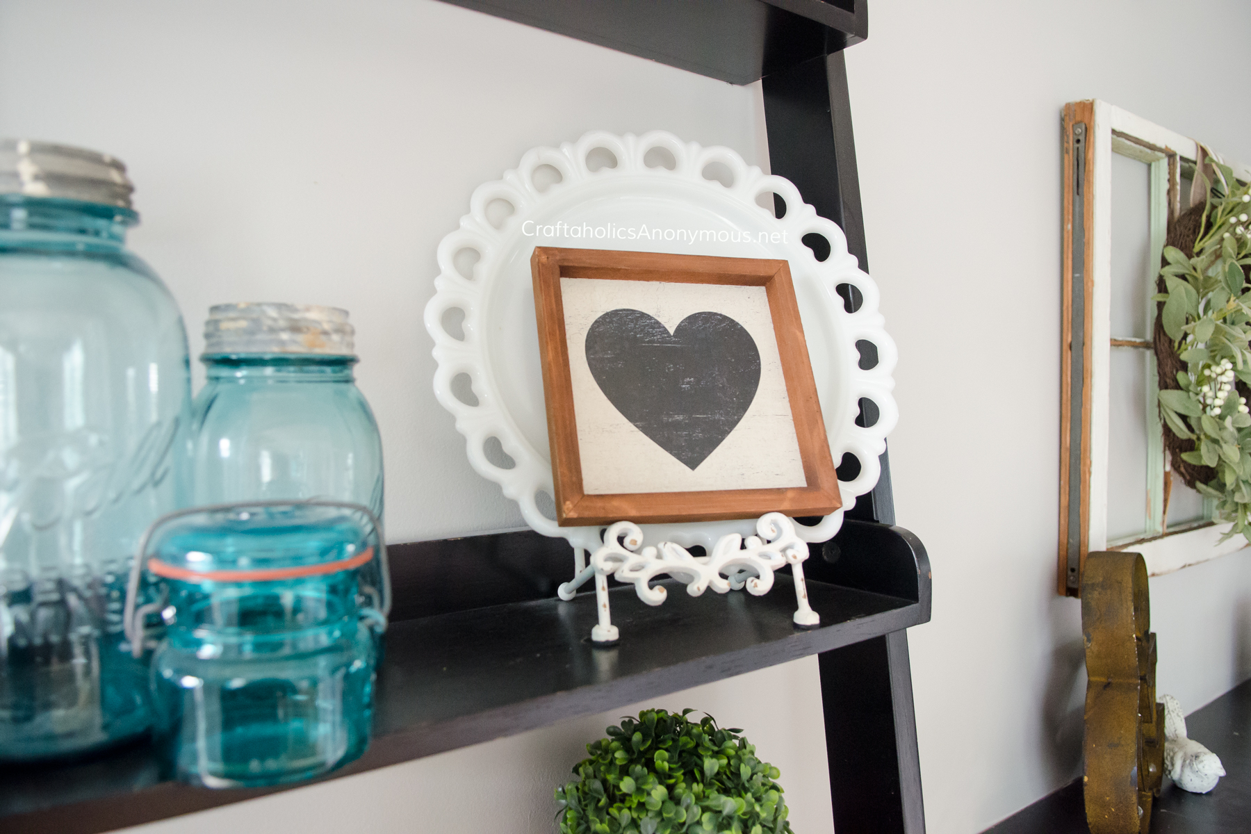 Simple Farmhouse Valentine decor ideas