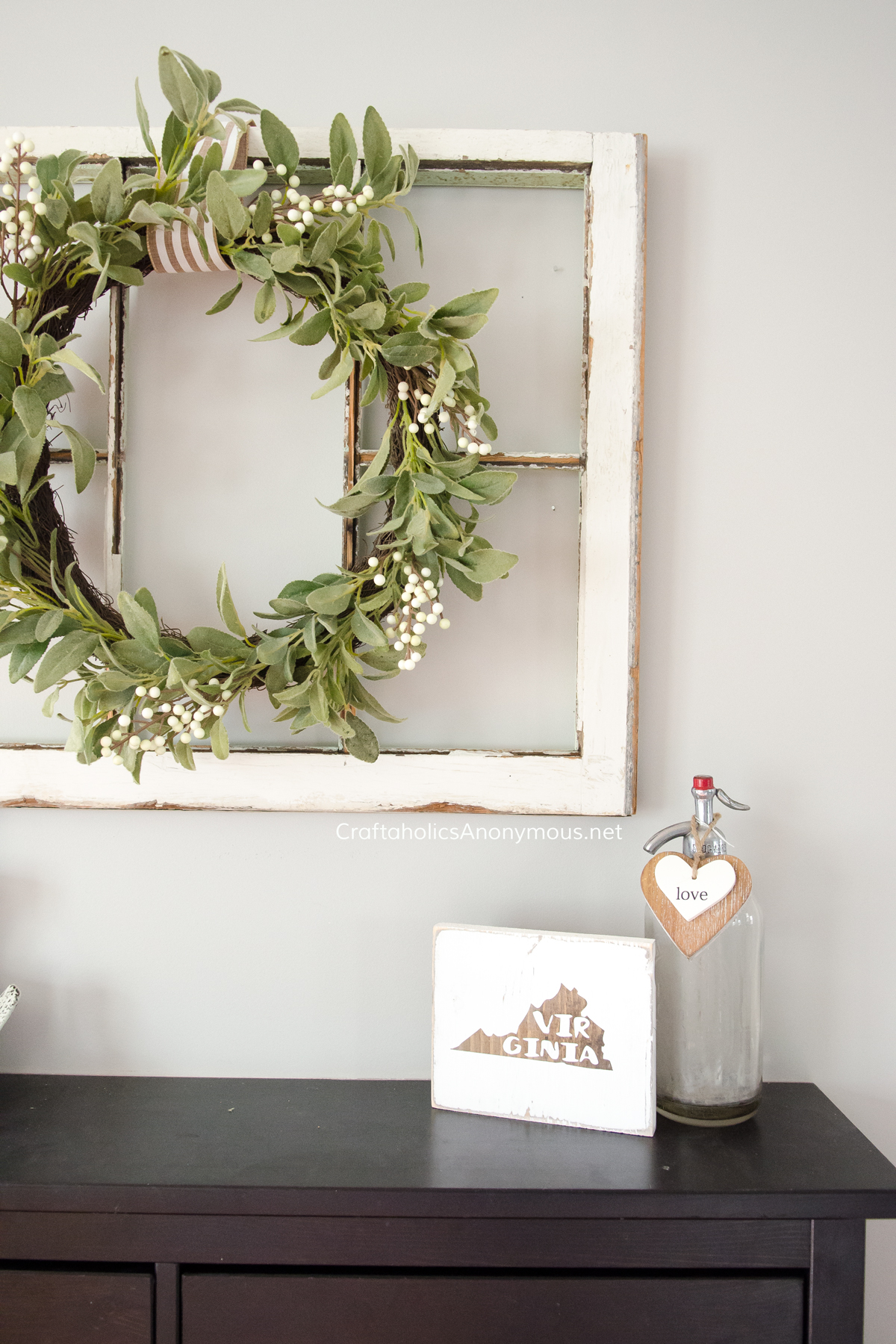Modern Farmhouse Valentine decor