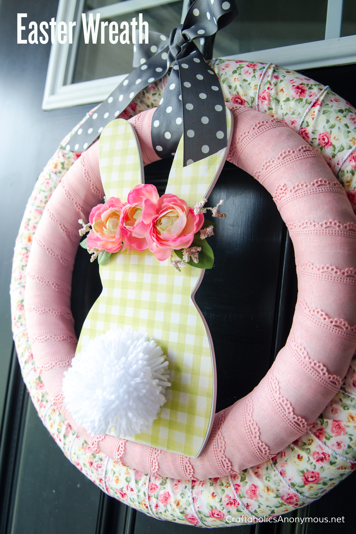 Craftaholics Anonymous Easter Wreath