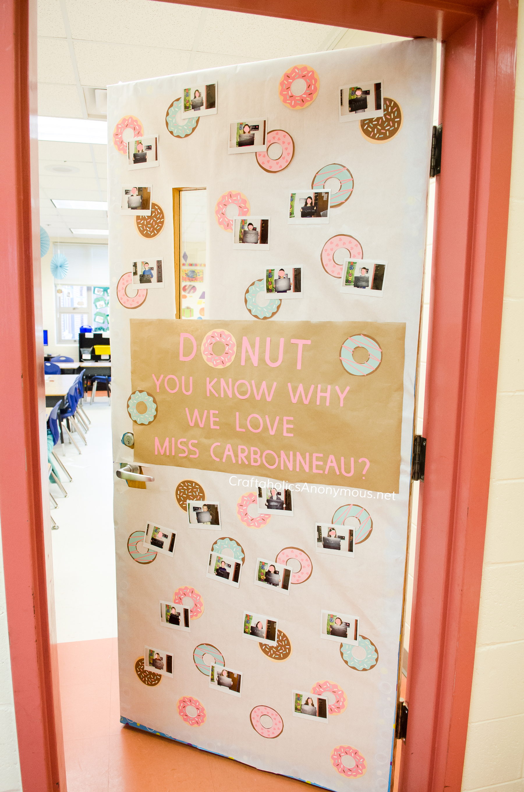 image about Donut Teacher Appreciation Printable named Craftaholics Anonymous® Trainer Appreciation Doorway Strategy