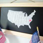 4th of July DIY Sign