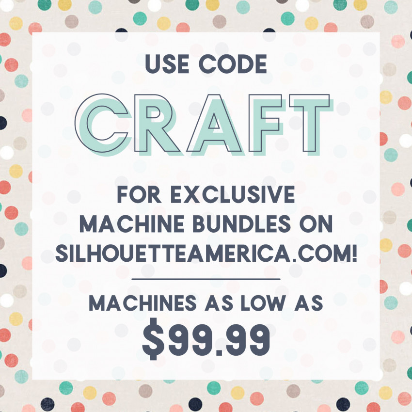 Silhouette Discount Code: CRAFT