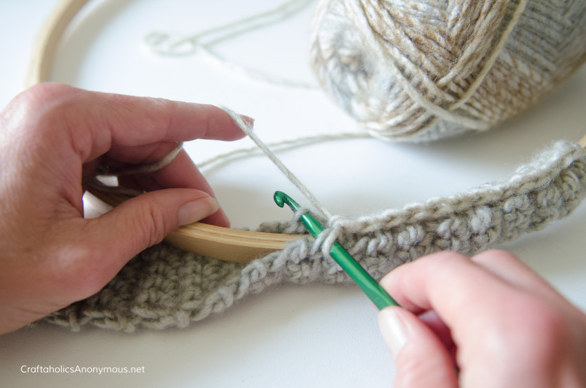 Crochet Craft tutorial DIY