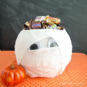 Halloween Mummy Candy Bowl