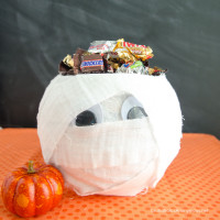 Halloween Mummy Candy Bowl