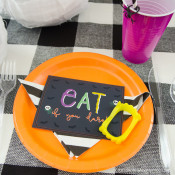 Halloween Monster Manners Dinner