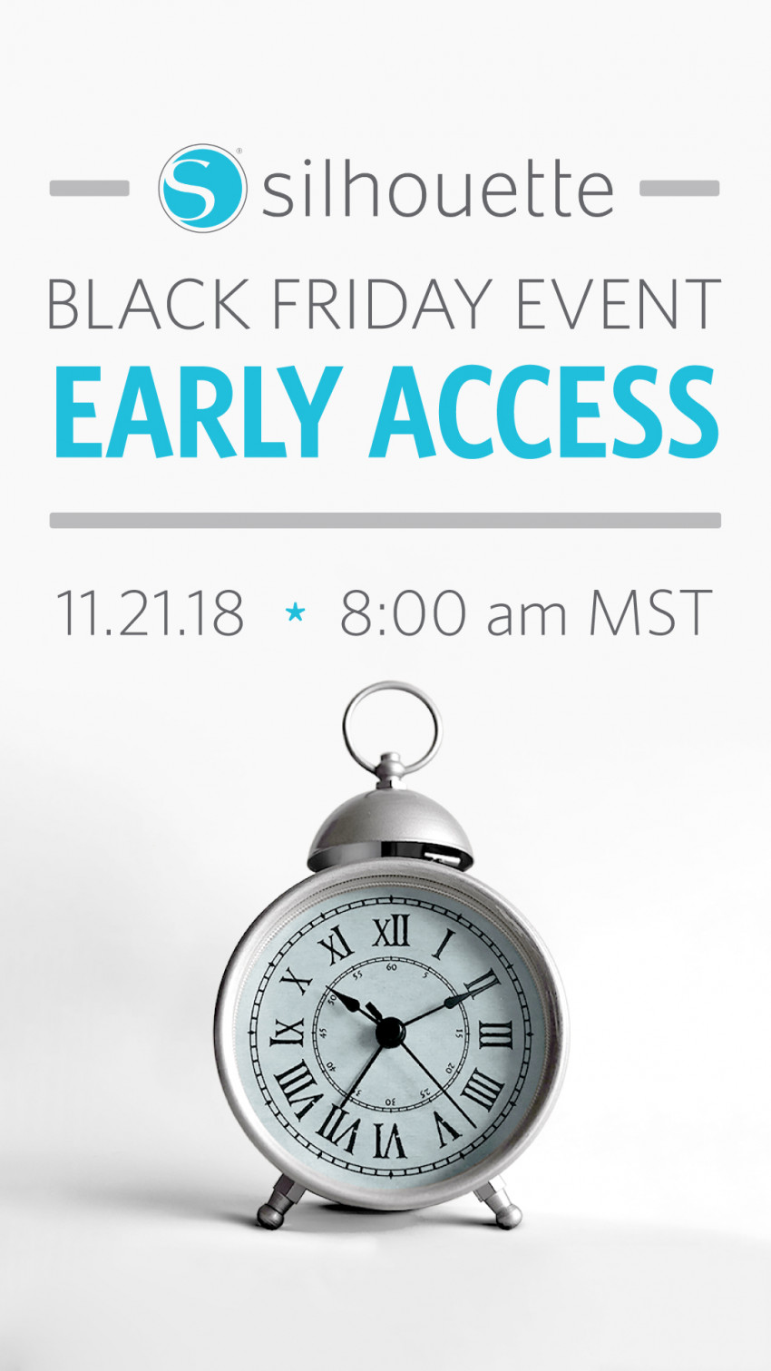 Silhouette Black Friday Discount code: CRAFT Get early access to sale