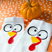 Turkey Trot Socks DIY