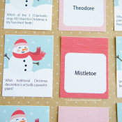 Christmas Trivia Game :: Free Printable